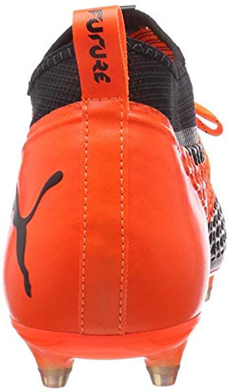 628b9723ec2958 Puma Future 2.2 Netfit Fg ag Footbal Shoes in Orange for Men - Lyst