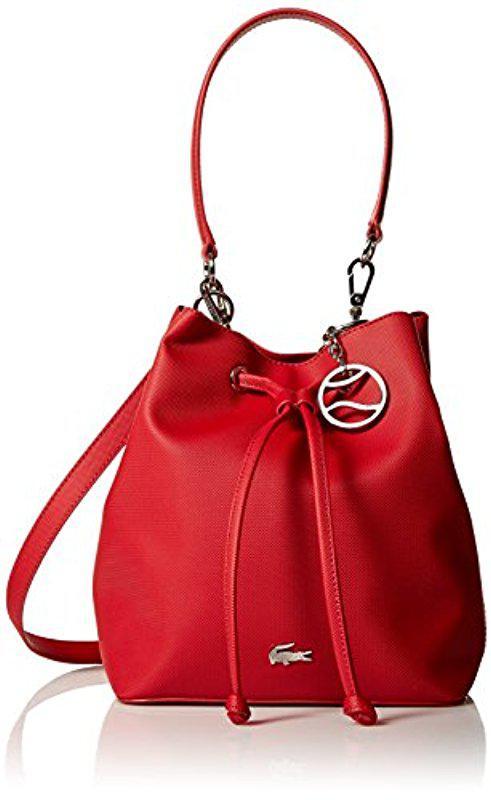593019c79d1536 Lyst - Lacoste Bucket Bag
