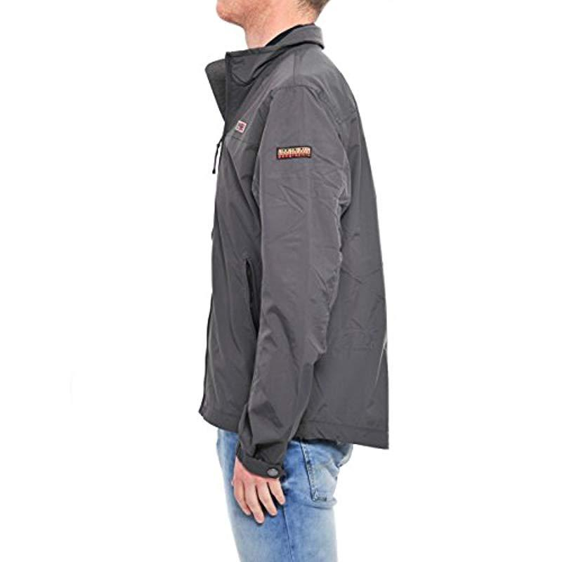 44d9c1172 Napapijri Shelter Sum Jacket in Gray for Men - Lyst