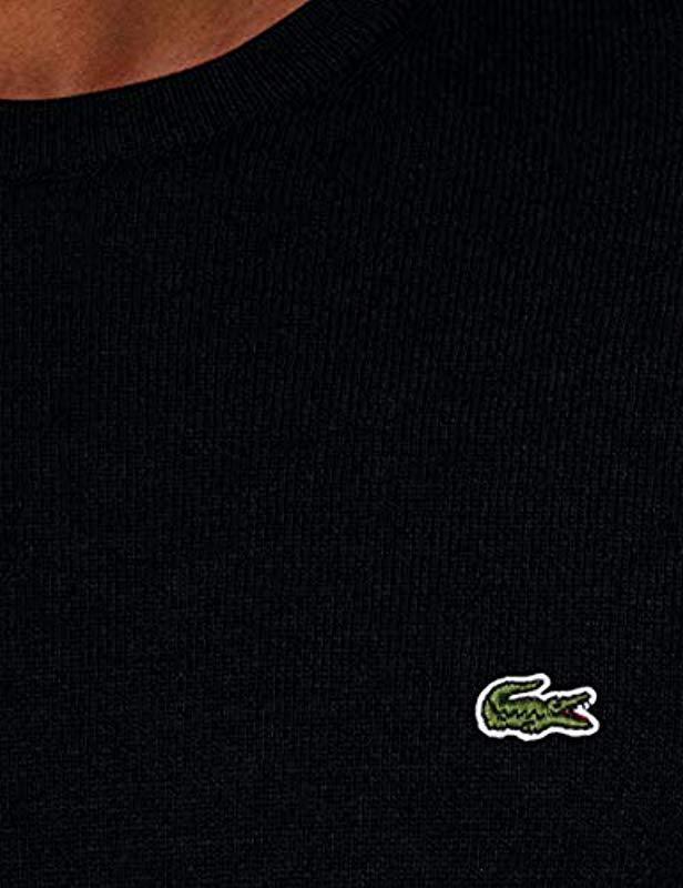 3df83b146a4 Lacoste Jumper in Black for Men - Lyst