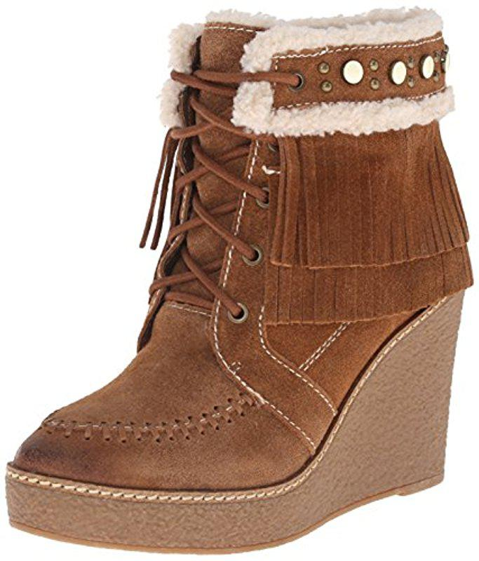 8c230536531e Lyst - Sam Edelman Kemper Boot in Brown