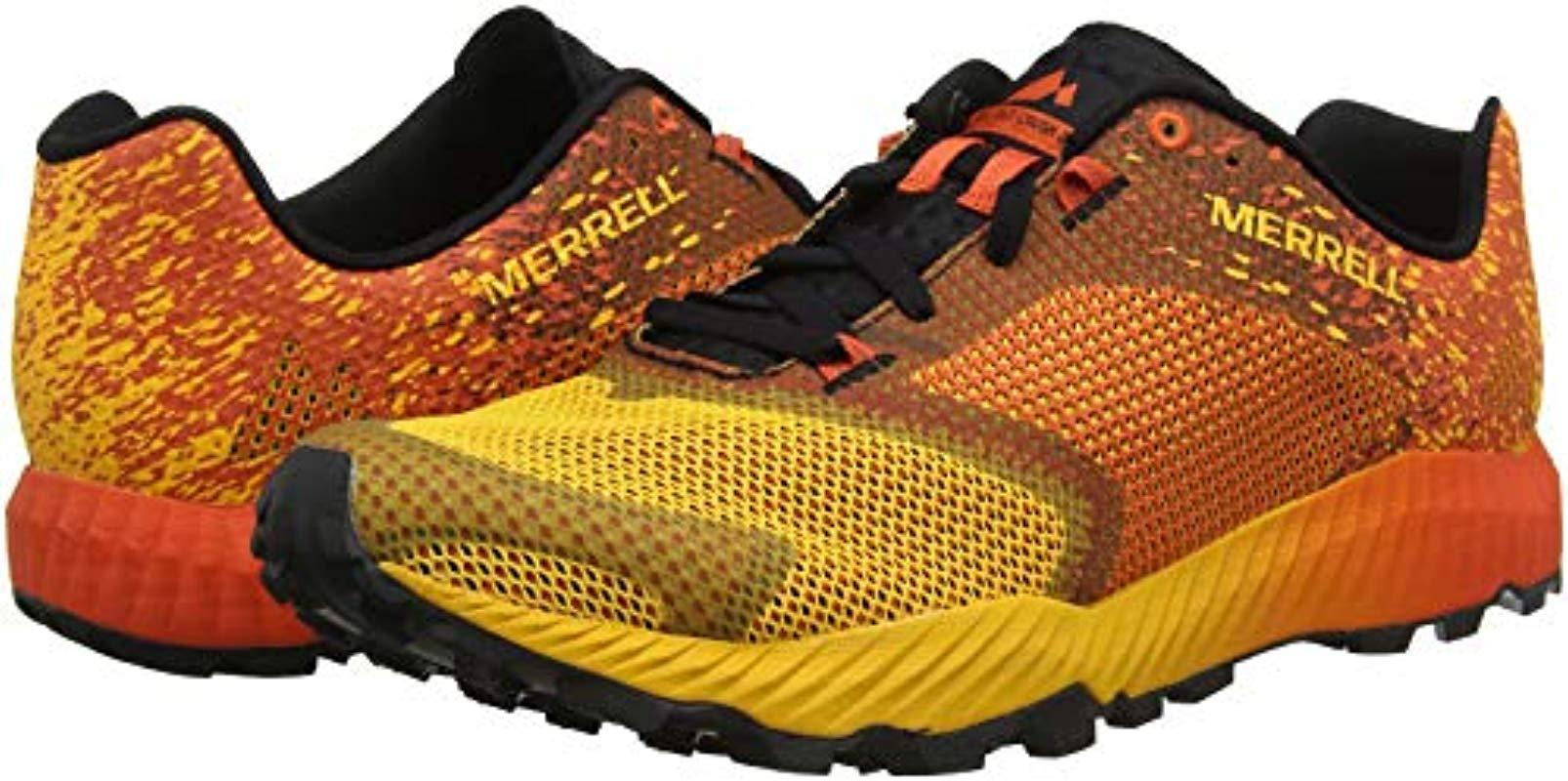 Merrell All Out Crush 2 GTX Trail Running Laufschuhe orange