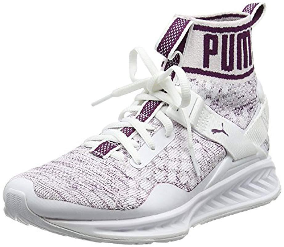 Puma  s Ignite Evoknit Multisport Outdoor Shoes in White - Lyst 441c5eeca