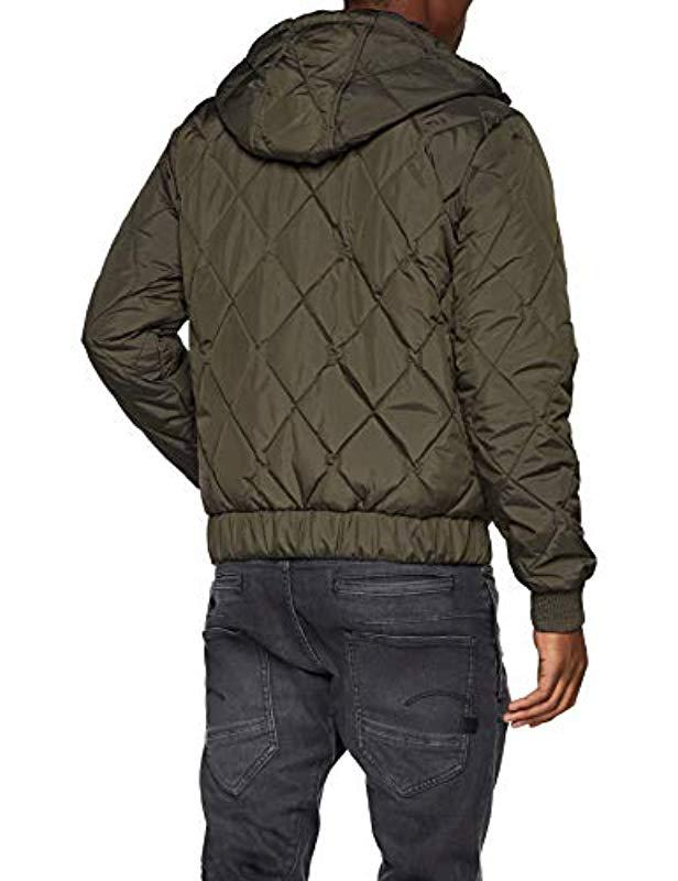 5ea89acf6116 G-Star RAW Whistler Meefic Hdd Quilted Bomber Jacket in Gray for Men - Lyst