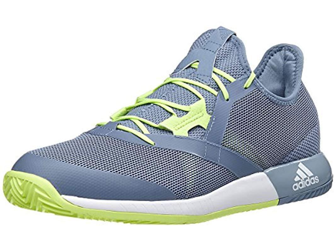 buy online 2acf8 8b545 Lyst - Adidas Adizero Defiant Bounce Tennis Shoe in Blue for