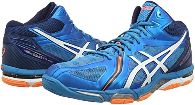 Men's Blue Gel volley Elite 3 Volleyball Shoes (b500n)
