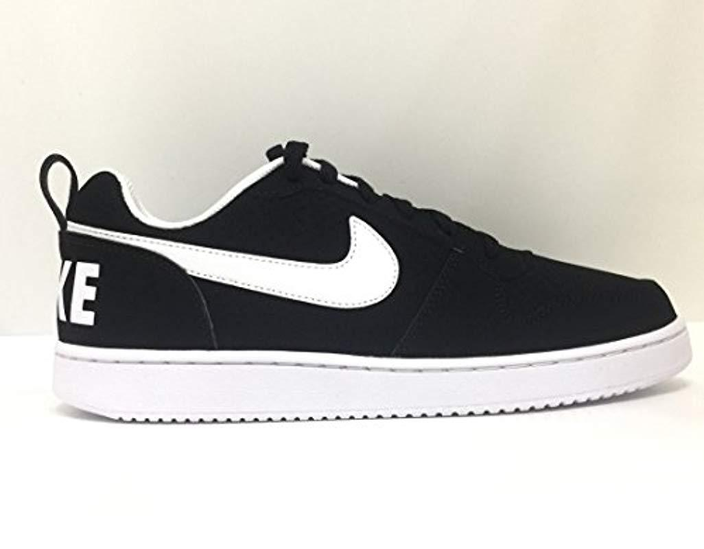migliore collezione adatto a uomini/donne cerca genuino Nike Scarpa Unisex Court Borough Low 838937 010 Black/white Size ...