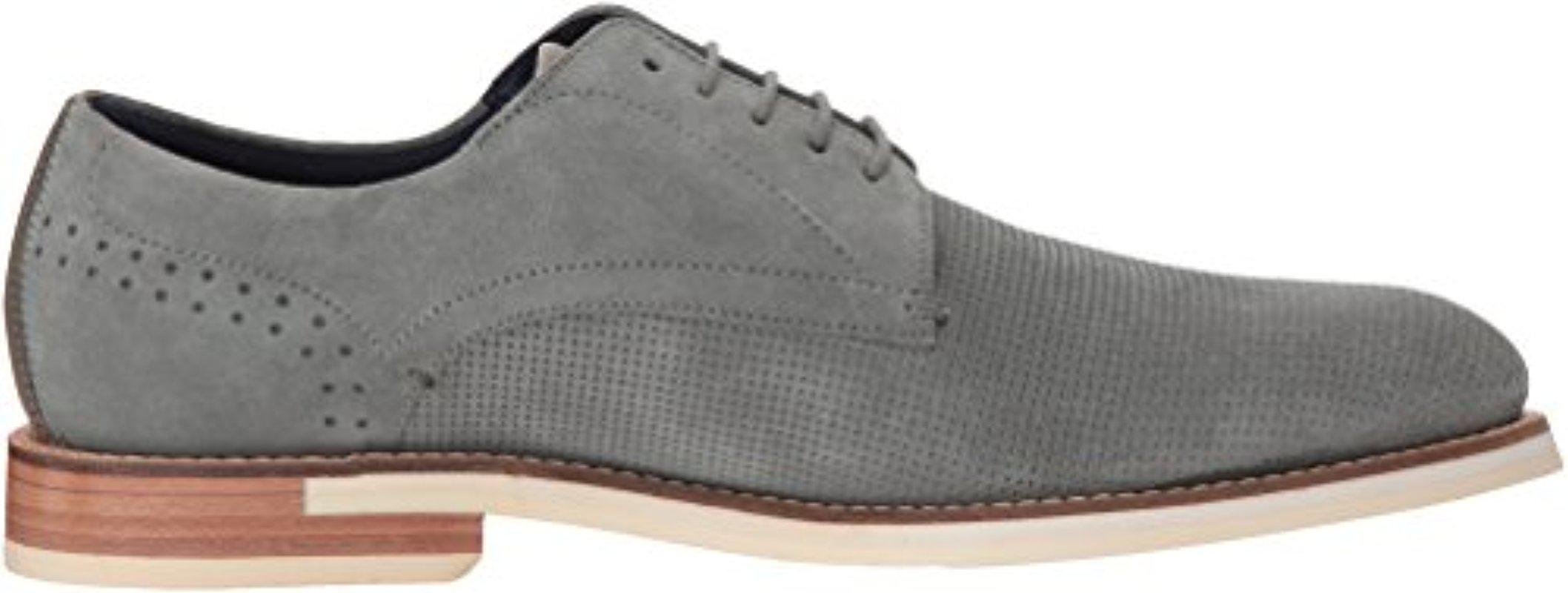Ted Baker Lapiin Oxford in Grey Suede