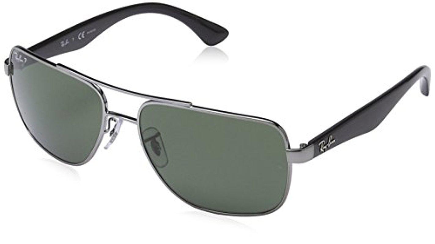71ebb3e17c Lyst - Ray-Ban Ray Ban Rb 3483 Black 004 58 Sunglasses Rb3483 - 60mm ...