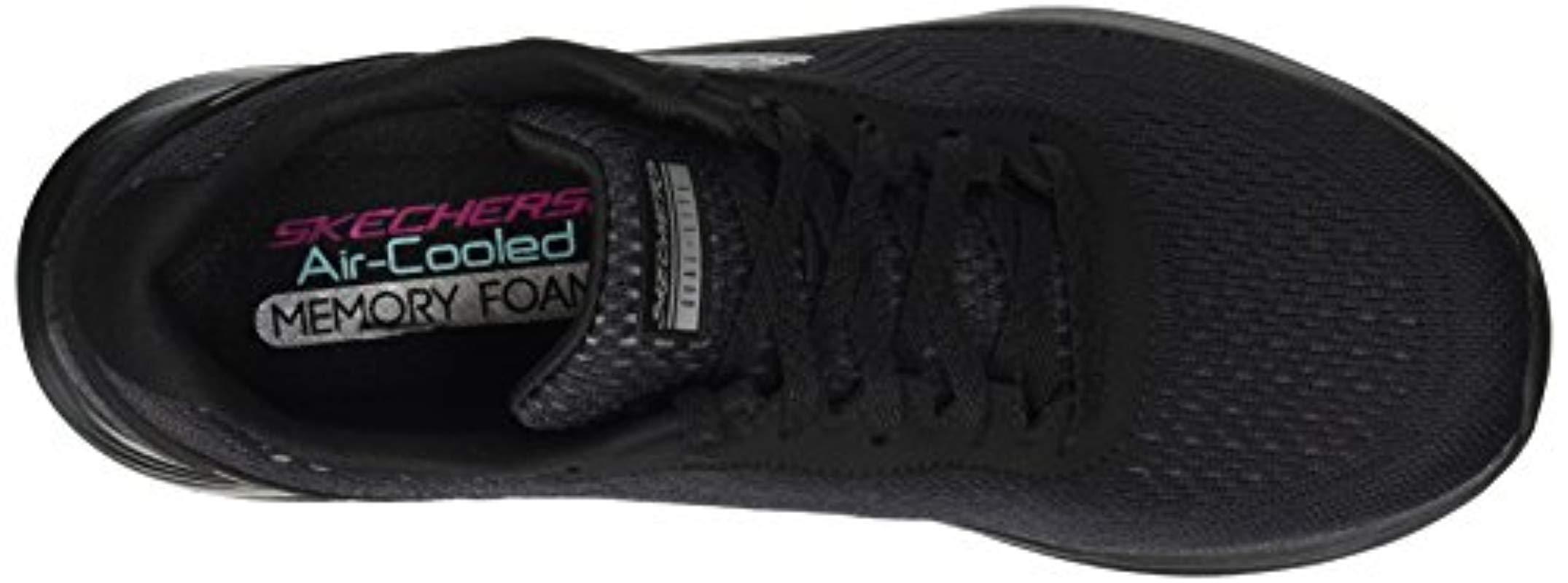 Skechers Sport Skyline Sneaker,black Bbk,5.5 M Us