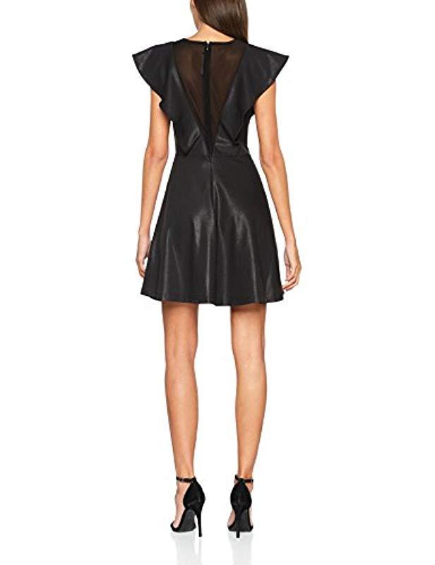 5e2a7aba87e56 Lyst - Guess Damen Kleid Lavinia Dress in Schwarz