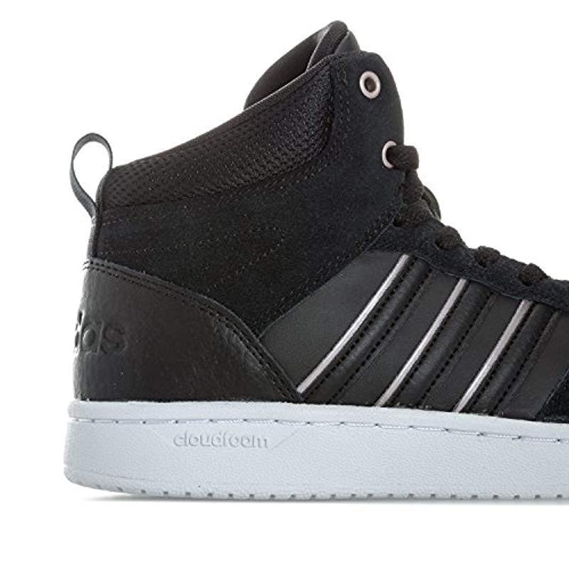 new style b3ad2 85ea0 Adidas - Black s Cloudfoam Superhoops Mid Fitness Shoes - Lyst. View  fullscreen