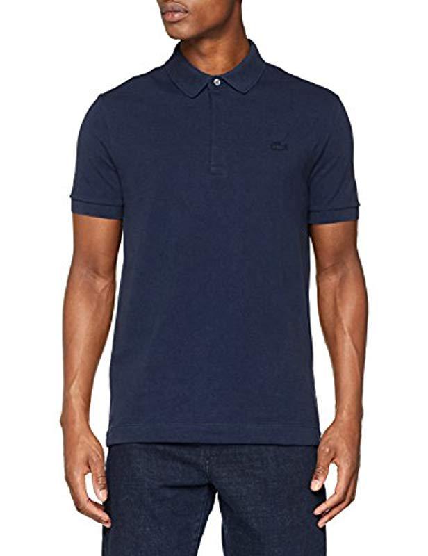 ce388c8582 Lyst - , Paris Polo Homme Lacoste pour homme en coloris Bleu