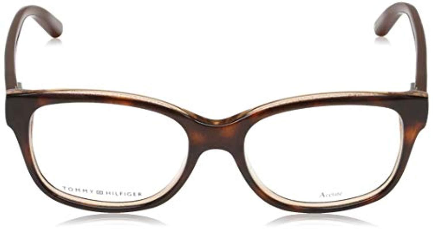 Multicolour Mehrfarbig Tommy Hilfiger Unisex Adults Brillengestelle TH 1017 Optical Frames 52.0