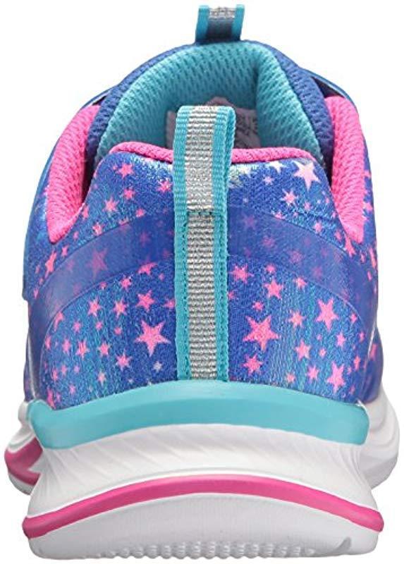 Jumpin'jams-Cosmic Cutie, Zapatillas para Niñas Skechers de color Azul