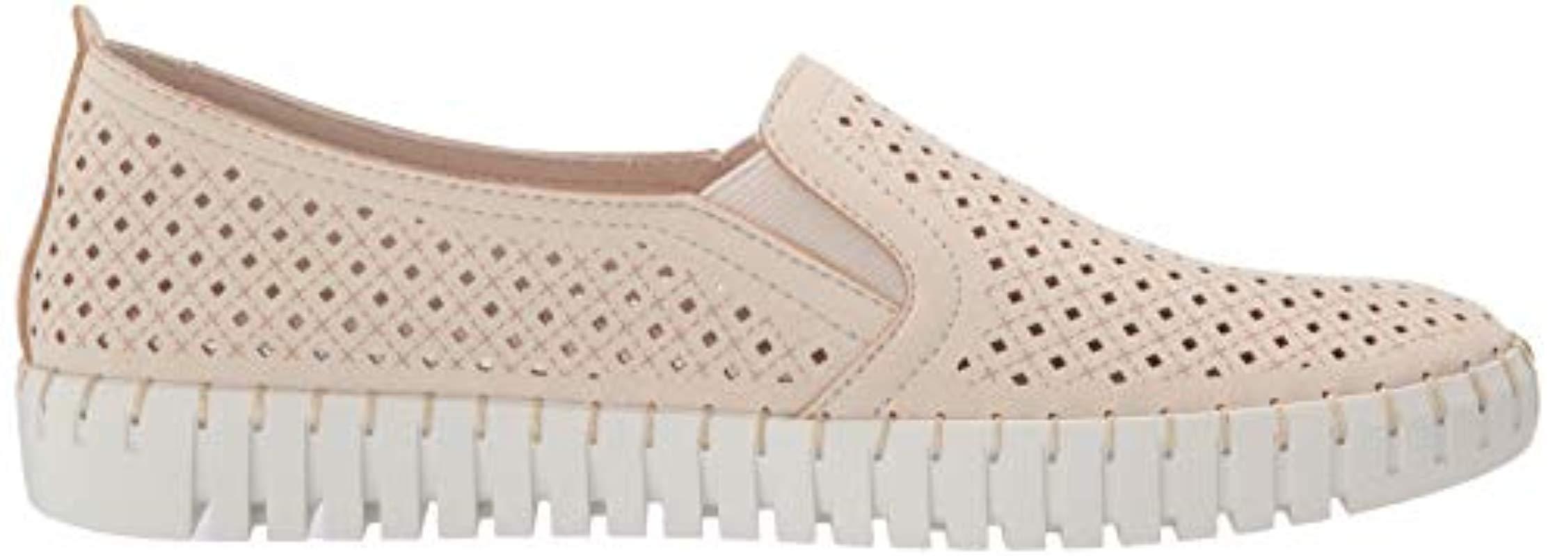 Sepulveda Blvd-A La Mode, Zapatillas sin Cordones para Mujer Skechers de color Neutro