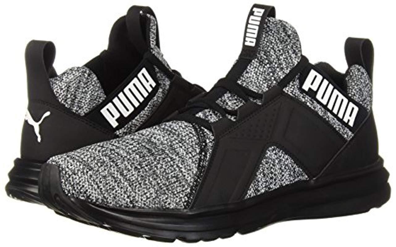 PUMA Enzo Knit Nm Sneaker in Black