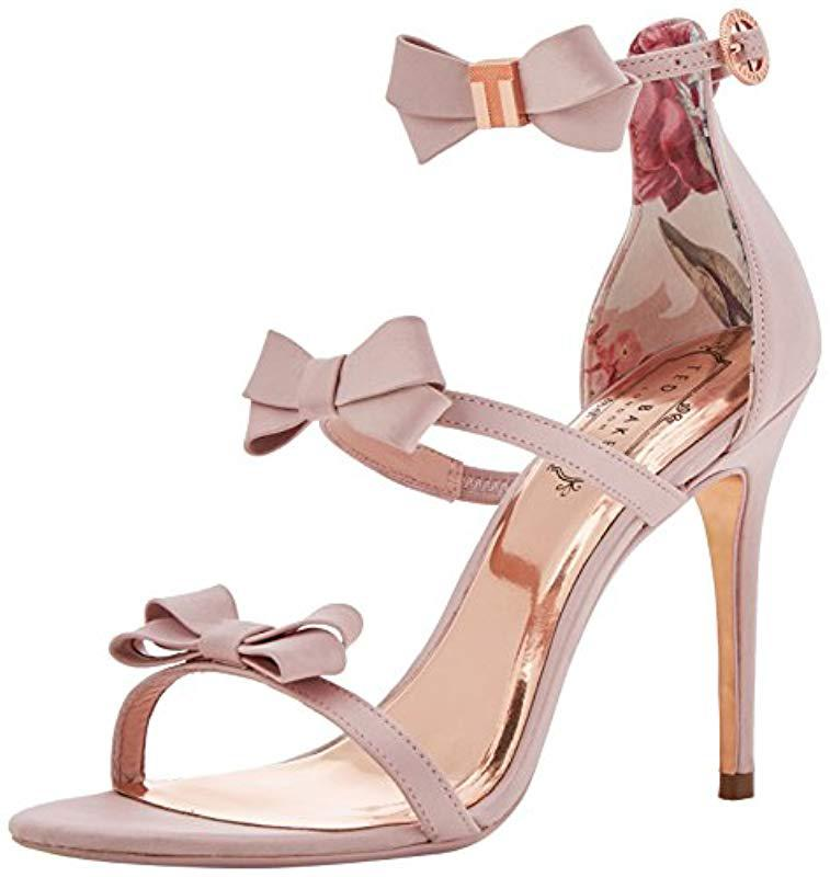 f1ab871b93a9 Ted Baker  s Nuscala Ankle Strap Sandals in Pink - Lyst
