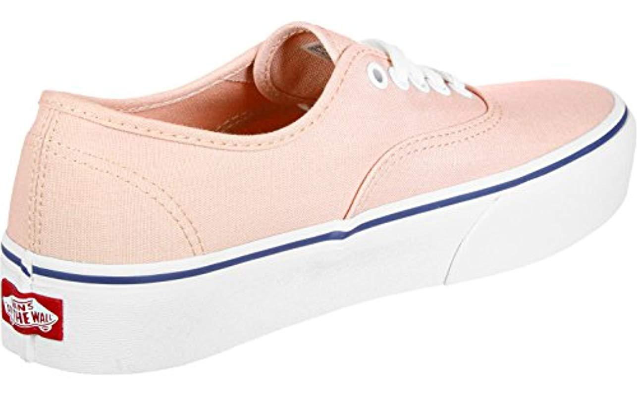 06becdbf3d Vans Authentic Platform 2.0 Trainers in Pink - Lyst