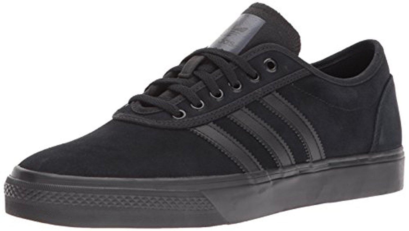 adidas Originals Mens Adi-Ease Skate Shoe Black/Black/Black 8 M US