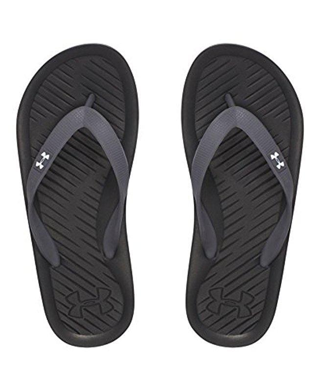 New Graphite White Black Under Armour Boy/'s Atlantic Dune Sandal