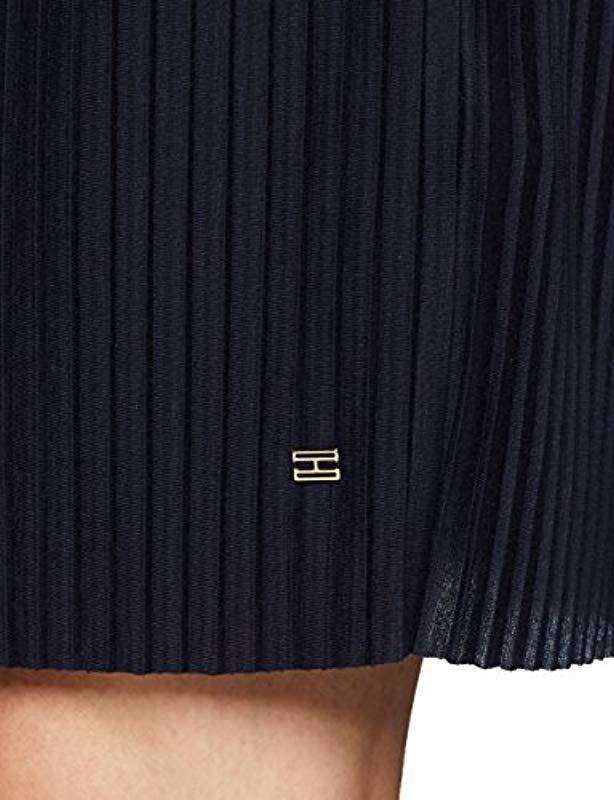 Tommy Hilfiger - Blue Fiona C-nk Short Ss Dress - Lyst. View fullscreen e35b61a8917