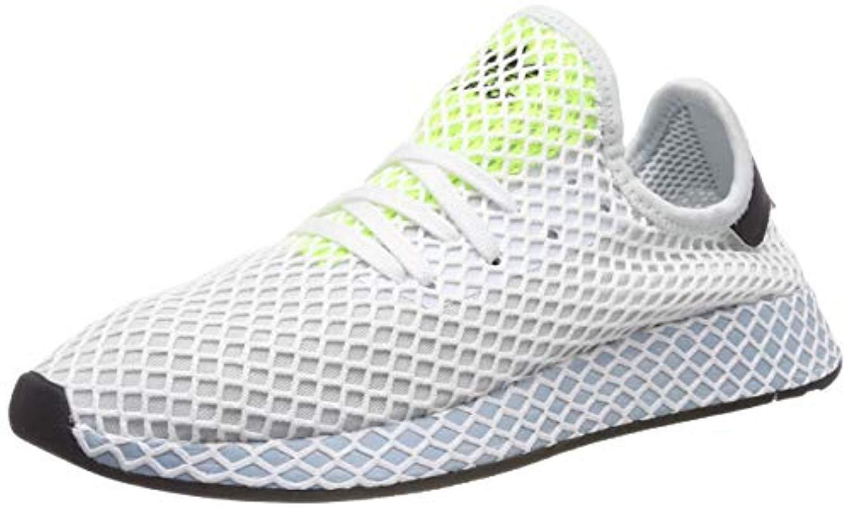 56f1cd79d81aa adidas Deerupt Runner W Running Shoes in Blue - Lyst