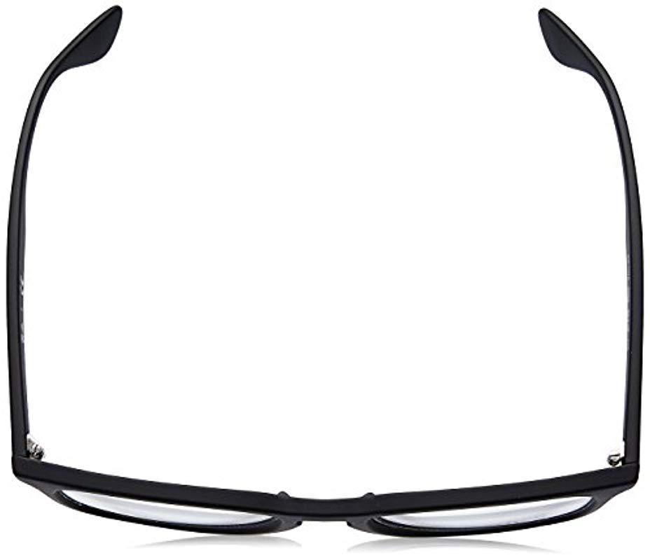 f2b5163fcb Ray-Ban - Rx7074 Glasses In Black Rubber Rx7074 5364 52 - Lyst. View  fullscreen