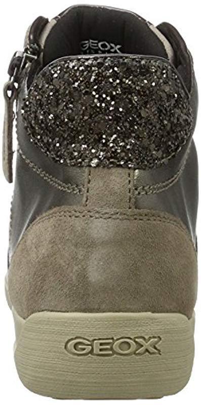 D Myria B, Zapatillas Altas para Mujer Geox