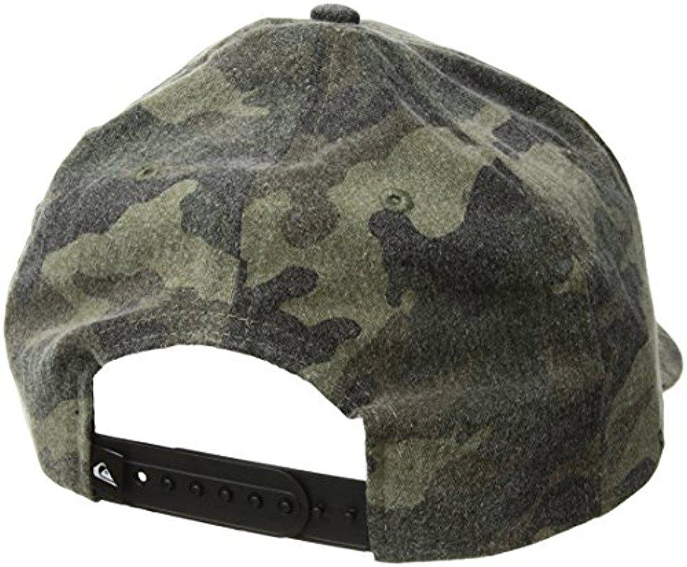 b2bf0a42 Quiksilver Gray Bull Hickey Hat for men