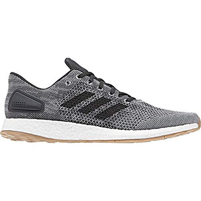33f358c88f7 Lyst - Adidas Pureboost Dpr Running Shoe in Gray for Men - Save ...
