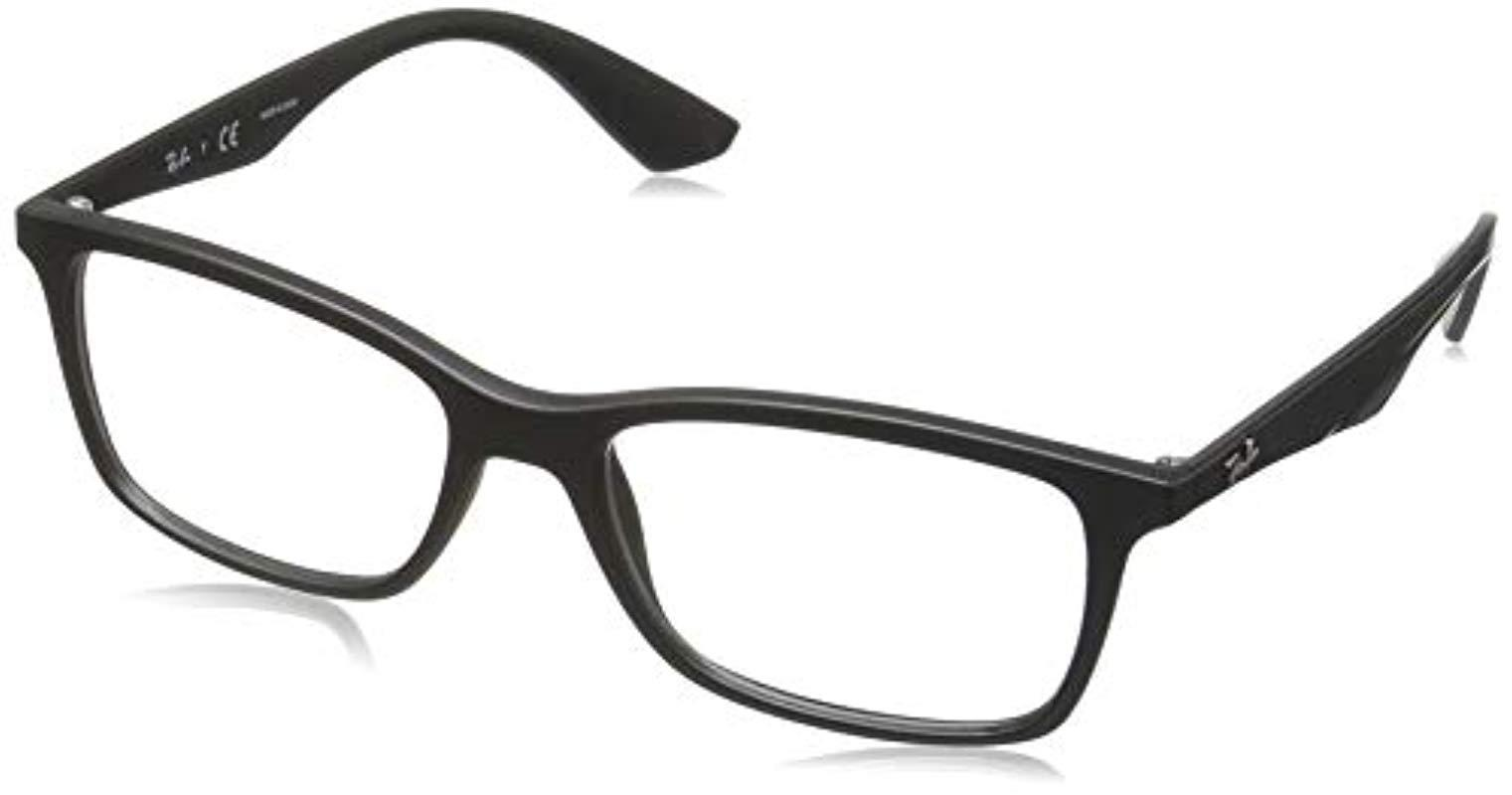 f5cefc2acba Ray-Ban Ray Ban Rx7047 Sunglassses in Black for Men - Lyst