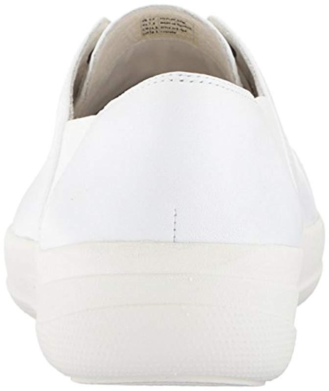 ceb44b0f77017 Lyst - Fitflop F-sporty Mirror-toe Sneakers in White