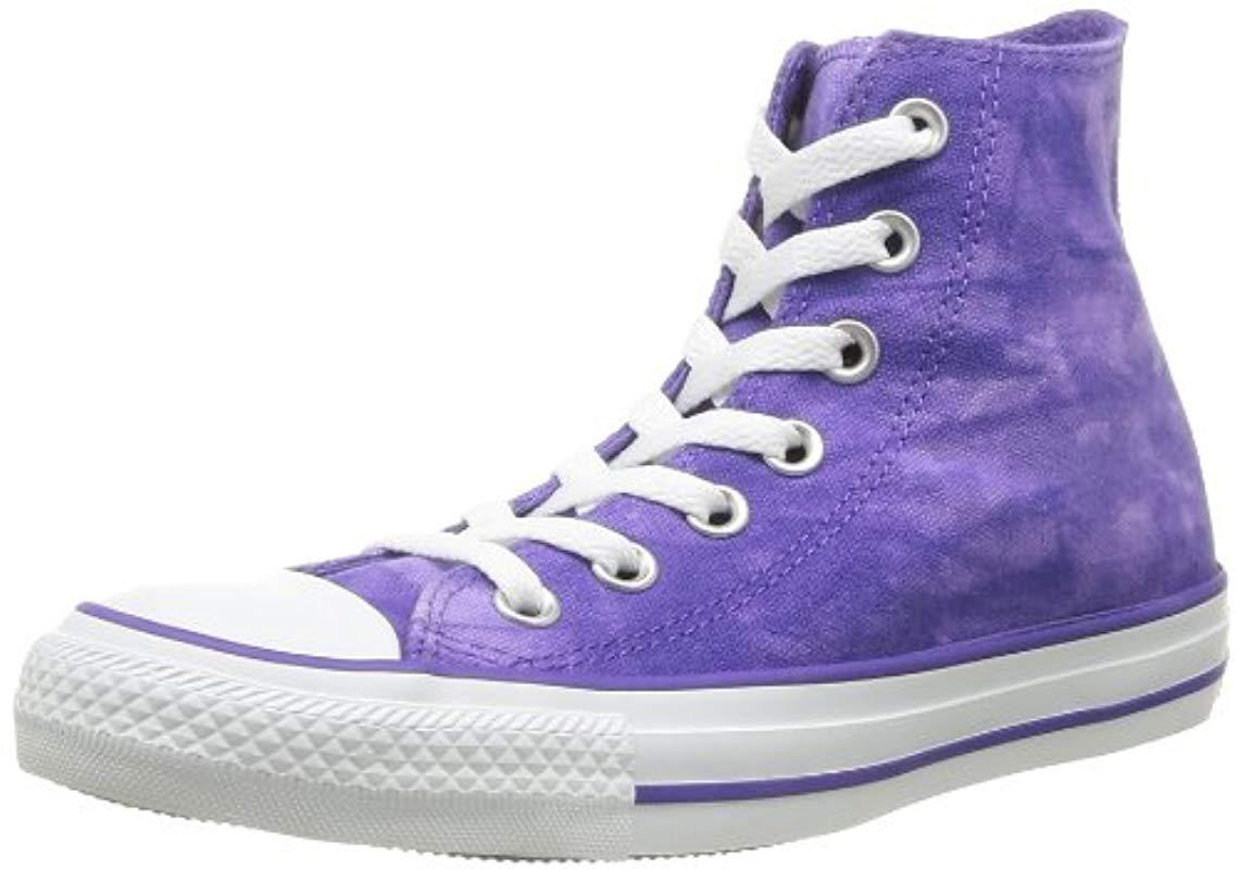 d44b4100d1aa Converse Unisex-adult Chuck Taylor All Star Tie Dye Hi-top Trainers ...
