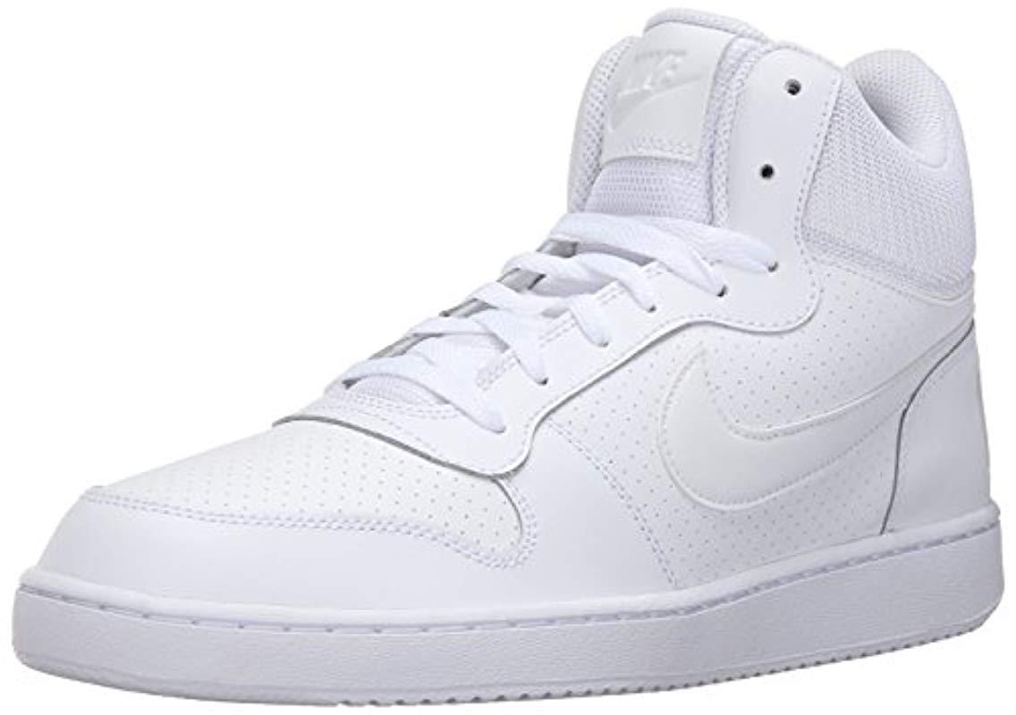 cd2b7512b Lyst - Nike Court Borough Mid Basketball Sneaker