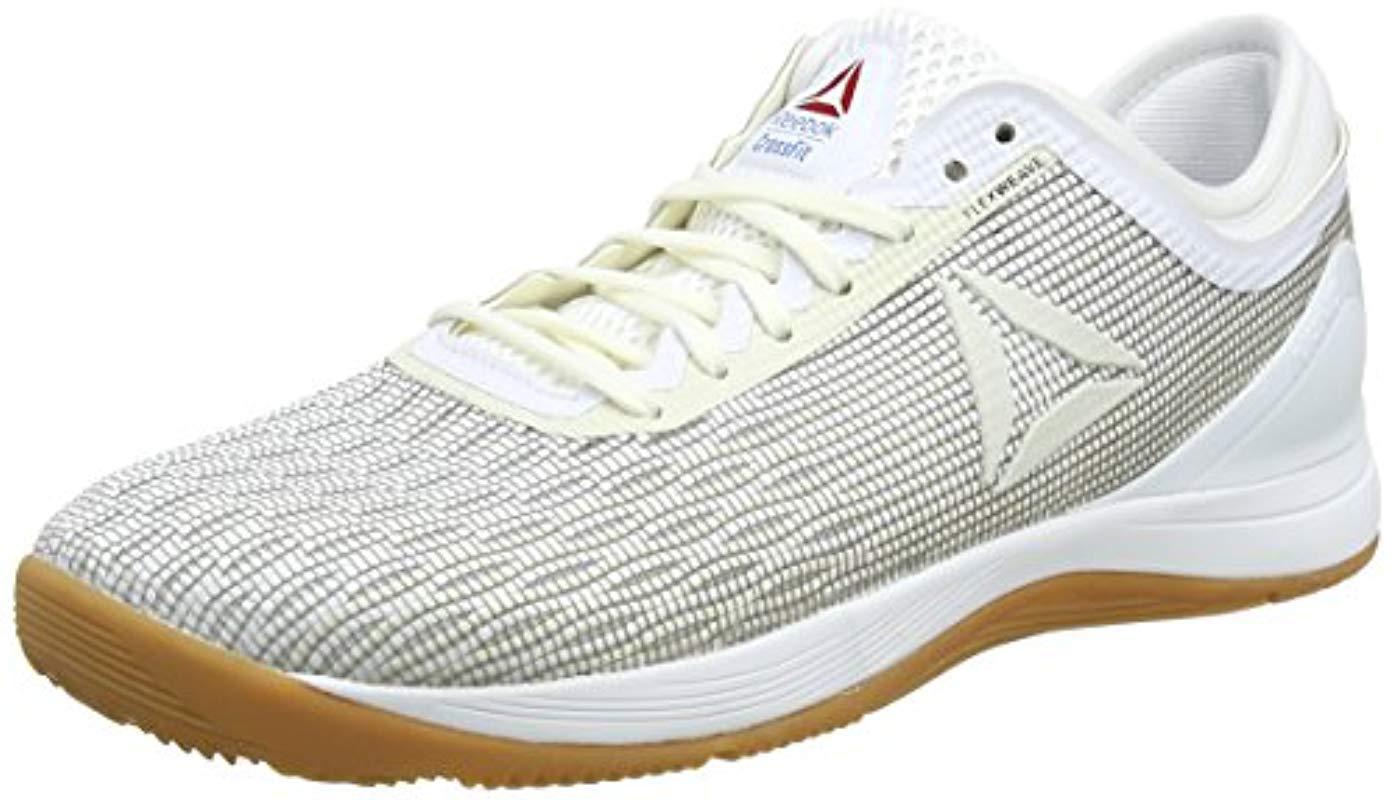Reebok R Crossfit Nano 8.0 Fitness Shoes in White - Lyst 721b72f08