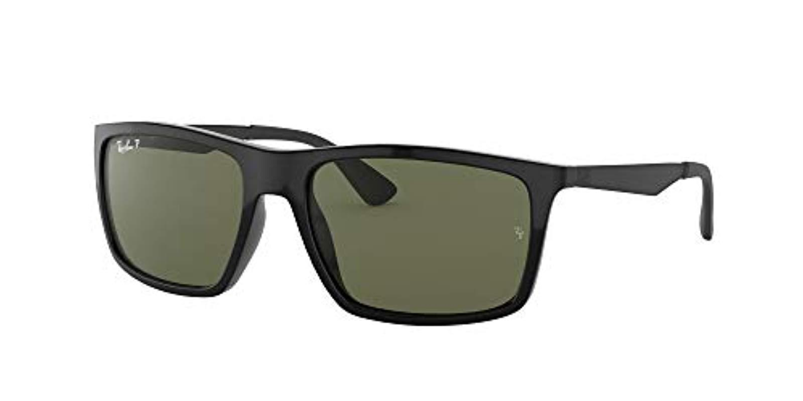 Ray-Ban Rb4228 Sunglasses, Negro, 58 in Black for Men