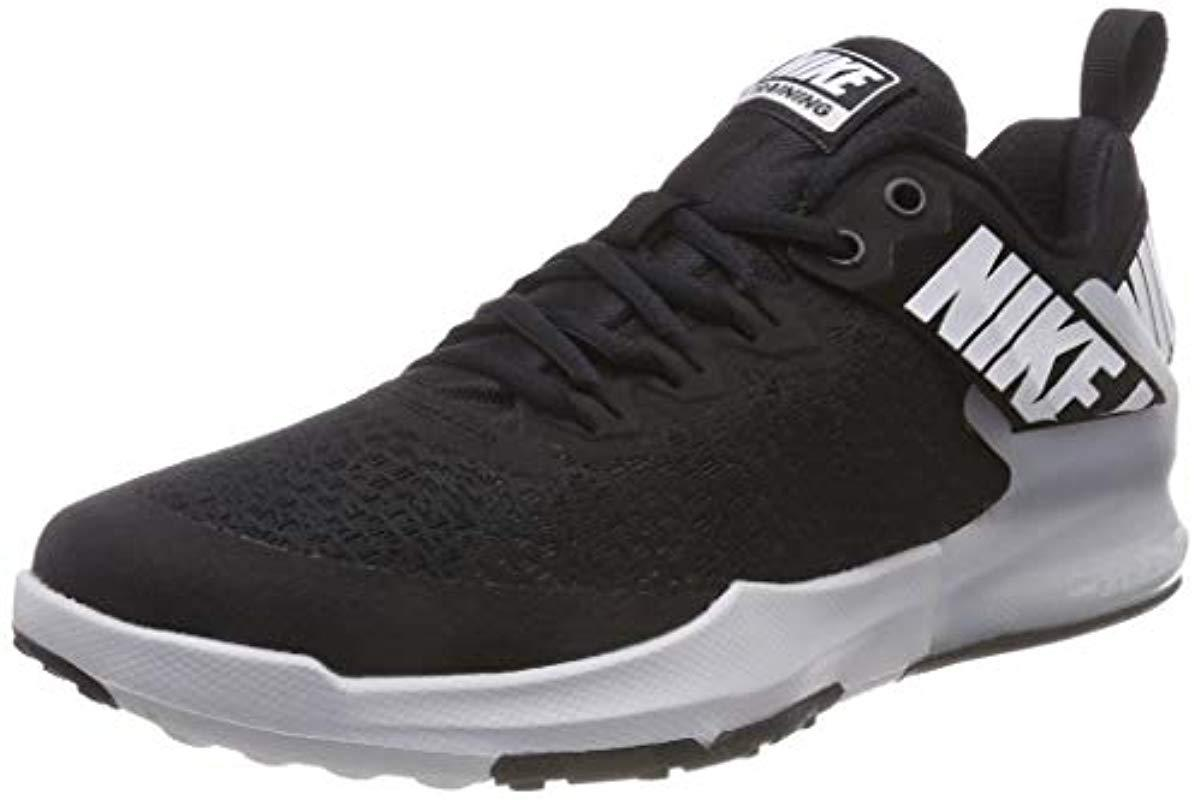 93bd7775cdc Nike Zoom Domination Tr 2 Gymnastics Shoes in Black for Men - Save 4 ...