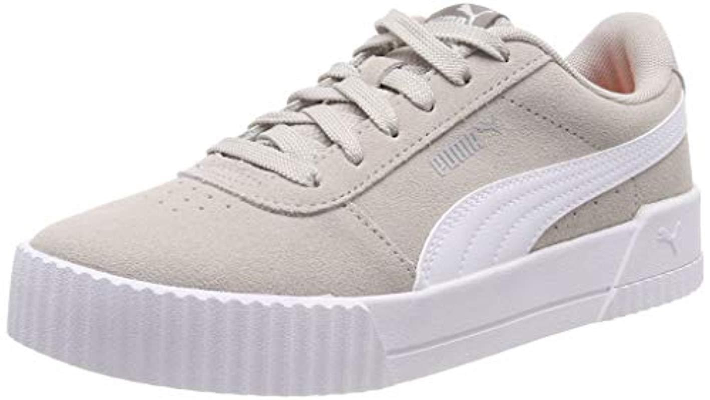 33e77b7ffd29 PUMA Carina Low-top Sneakers in Gray - Lyst