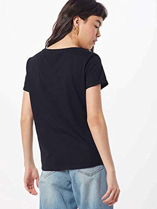 Tom Tailor Printshirt T-Shirt in Blau jd5M9