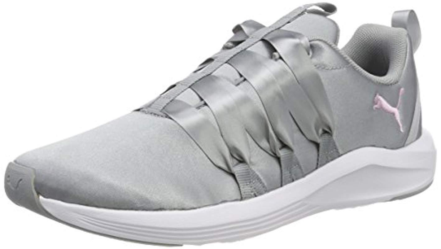 ed11f4c4e891 Puma Prowl Alt Satin Wn s Fitness Shoes Black in Gray - Lyst