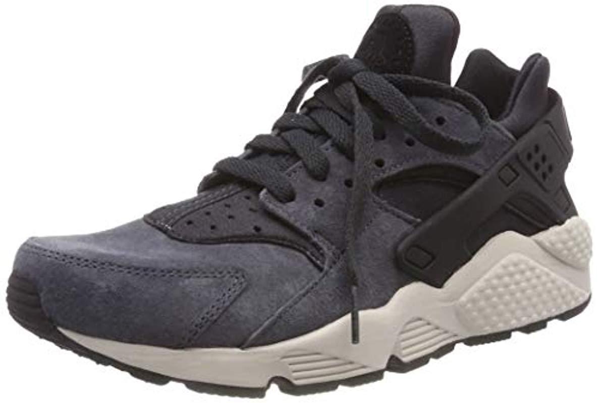 3d50ccc9e8a1 Nike Air Huarache Run Prm Gymnastics Shoes in Black for Men - Lyst