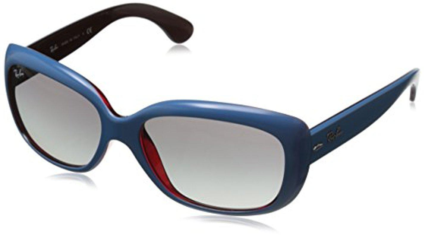 96345f1ba7 Lyst - Ray-Ban 4101 Jackie Ohh Sunglasses in Blue - Save 50%
