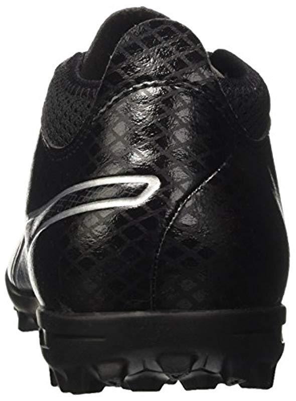 8bb2c752fa596d PUMA One 17.4 Tt Football Boots in Black for Men - Lyst