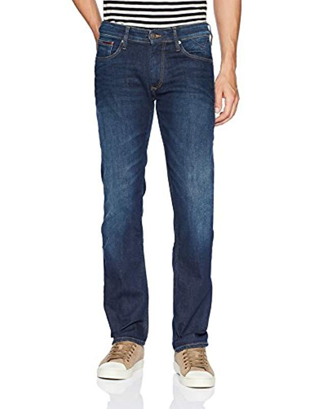 a4d62f1ae Tommy Hilfiger Original Ryan Straight Fit Jeans in Blue for Men - Lyst