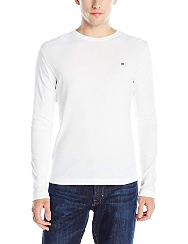 2641f677 Lyst - Tommy Hilfiger Denim Long Sleeve T Shirt Original Crewneck in ...
