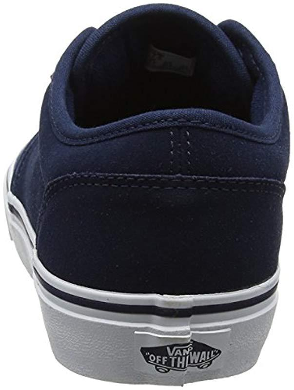 3e0cbabb614e88 Vans Atwood Trainers in Blue for Men - Lyst