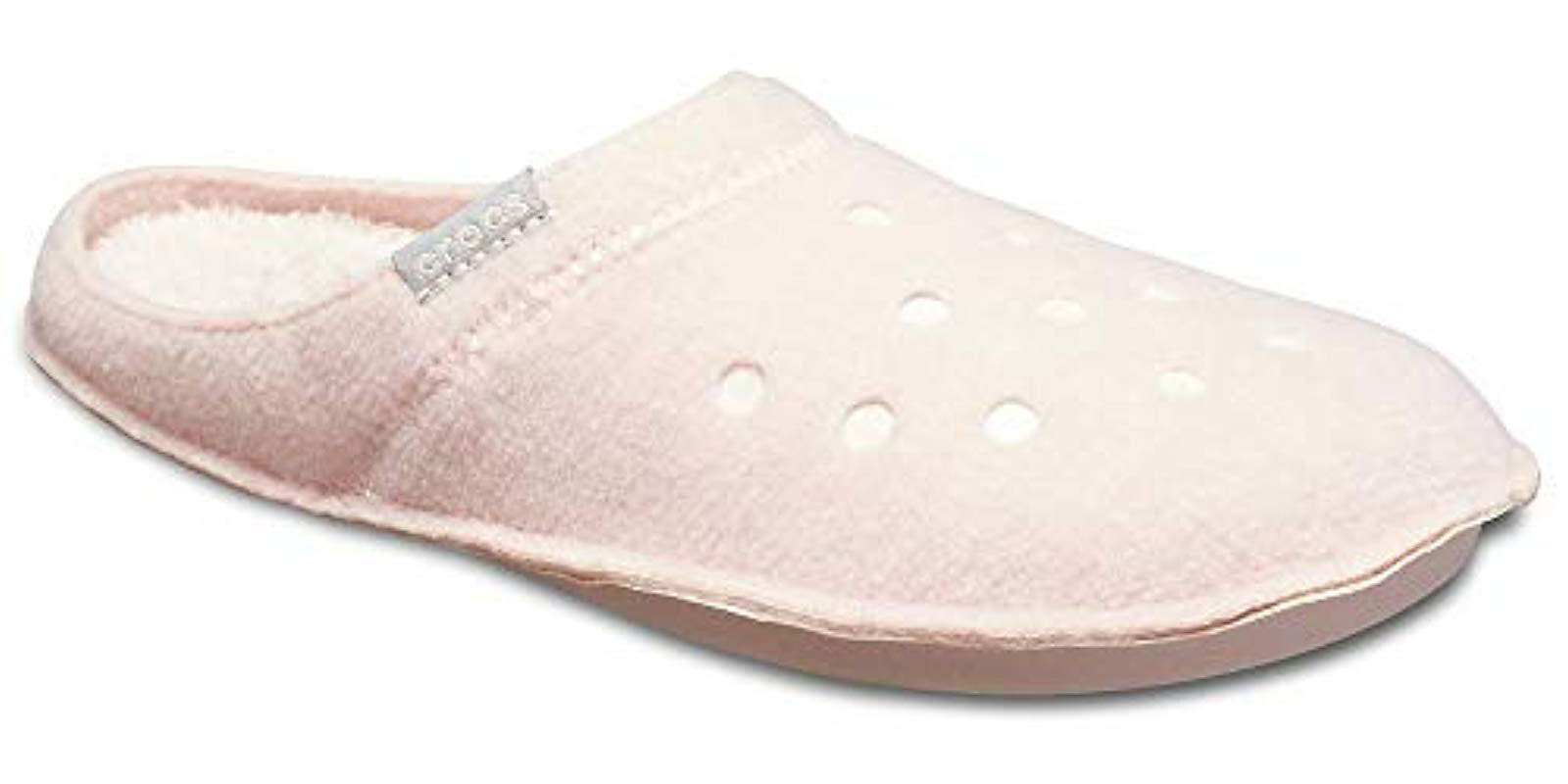 4a25f7984b63d Crocs™ - Pink Classic 203600 Unisex Adult Slippers - Lyst. View fullscreen