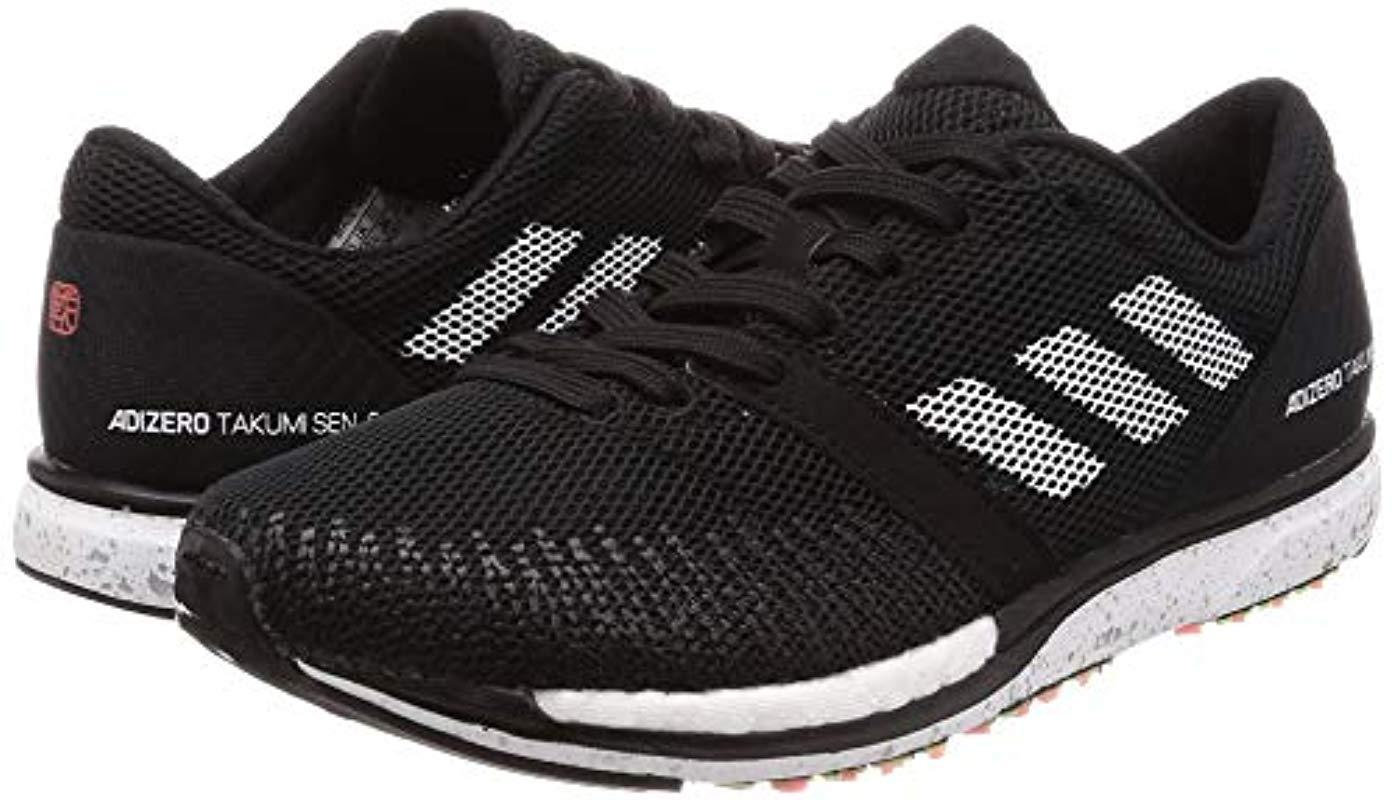 first rate dd776 3732c adidas Unisex Adult s Adizero Takumi Sen 5 Running Shoes in Black for Men -  Lyst
