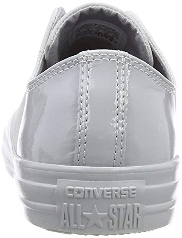 7ad06f87cefa Converse Adults  Chuck Taylor All Star Ox Fitness Shoes in Gray for ...